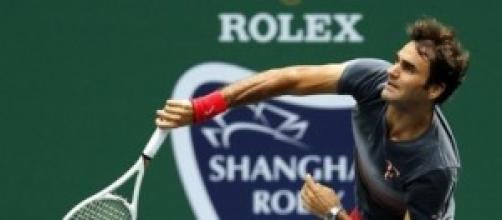Roger Federer llega a la final de Shanghai