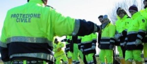 Protezione civile alluvione Genova 2014