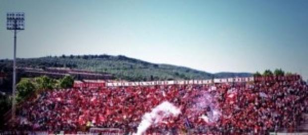 Calcio Perugia-Frosinone Serie B 2014-2015