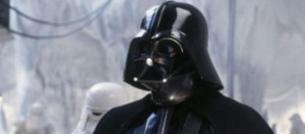Darth Vader en las películas.