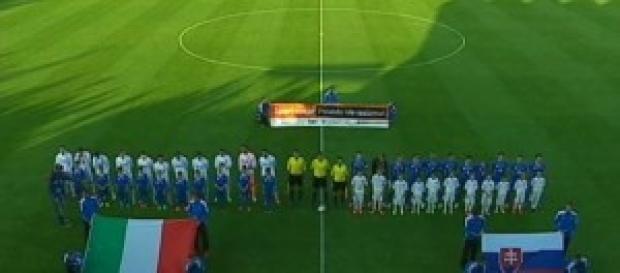 Italia-Slovacchia del 14 ottobre alle 16:00