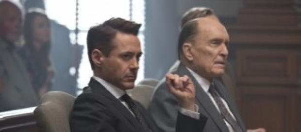 """Robert Downey Jr. y Robert Duvall en """"El juez"""""""