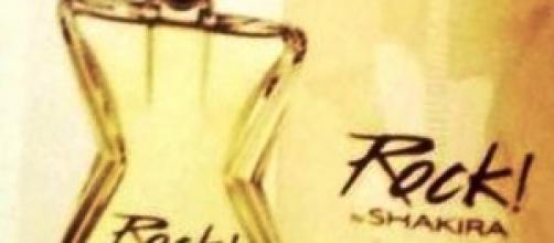 Rock, la nueva fragancia de shakira