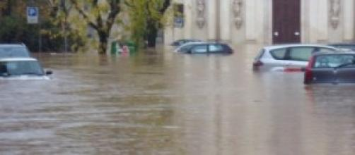 Foto alluvione in Toscana