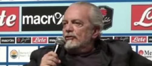 Napoli calcio, news: De Laurentiis