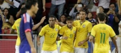 Neymar autor de los cuatro goles de su equipo
