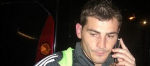 Uno de los dos porteros, Iker Casillas