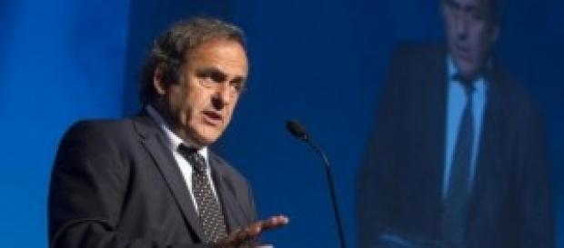 Michel Platini, 59 anni, Presidente UEFA dal 2007