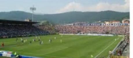 Lo stadio Atleti azzurri d'Italia di Bergamo