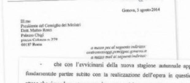 Burlando sbugiarda Matteo Renzi
