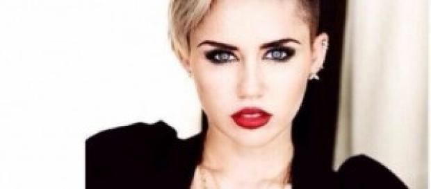 La jóven cantante y actriz, Miley Cyrus