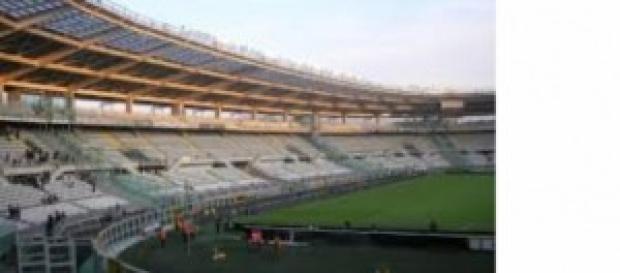 Lo stadio Olimpico di Torino