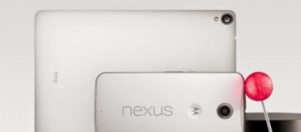 Nova familia Nexus do Google