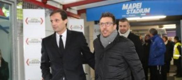 Sassuolo-Juventus, sabato 18/10 ore 20.45