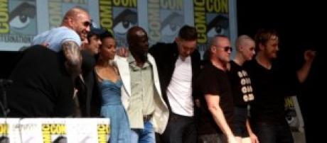 Reparto de la película de Marvel.