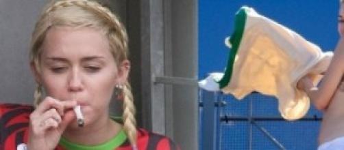 Miley Cyrus descontrolada en Australia.