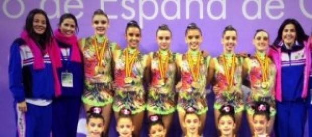 Club Ritmo con el oro en el último nacional
