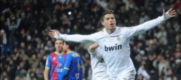 Cristiano Ronaldo vs Levante