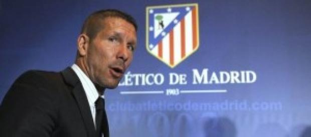 Diego Simeone, allenatore dell'Atletico Madrid