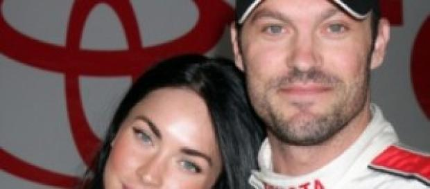 Megan Fox y su esposo Green