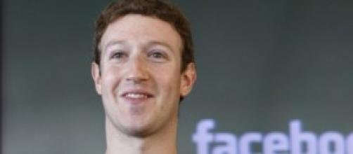 Mark Zuckerberg, il fondatore di Facebook.