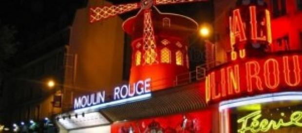 El cabaret, Moulin Rouge.