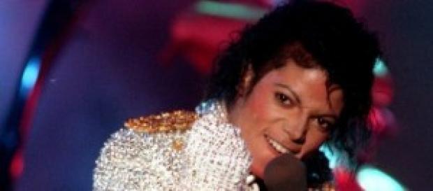 Michael Jackson en uno de sus conciertos
