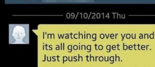 Dopo tre anni arriva un sms dall'aldilà