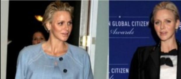 Charlene de Mónaco espera gemelos para diciembre.