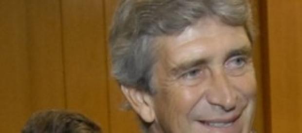 Manuel Pellegrini allenatore del Manchester City