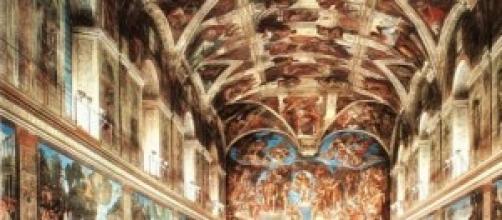 Cappella Sistina, vista frontale.