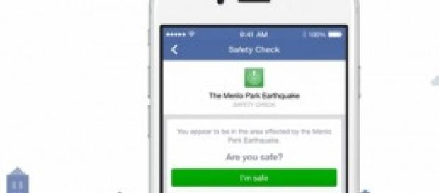 Facebook presentó Safety Check