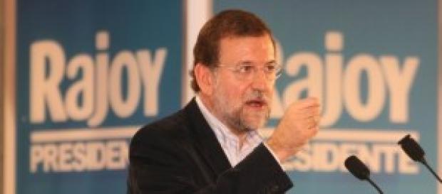 Mariano Rajoy diciendo alguna mentira.