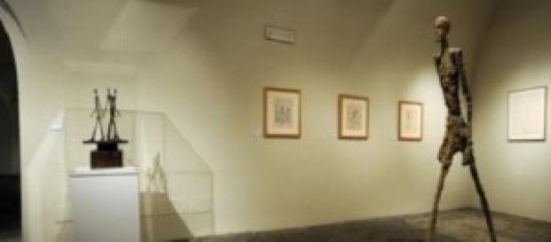 Giacometti alla Gam di Milano