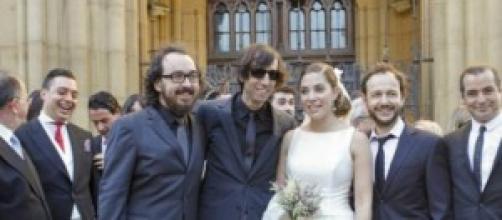 Leire Martinez se ha casado en San Sebastián.