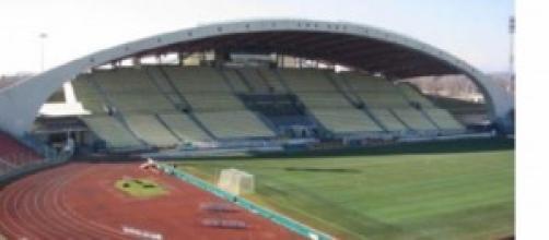 Lo stadio Friuli di Udine