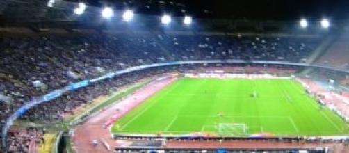 Lo stadio San Paolo di Napoli