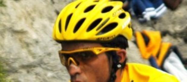 Alberto Contador en el Tour de 2009.