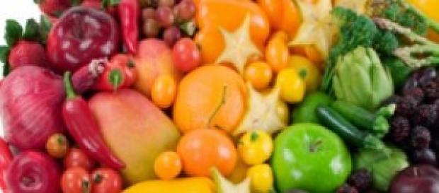 Dieta dei colori, i suoi benefici sull'organismo