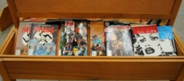 Super-heróis /Foto: Carmichael Library