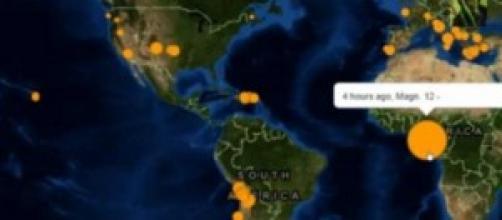Niente di vero sul terremoto in Africa.