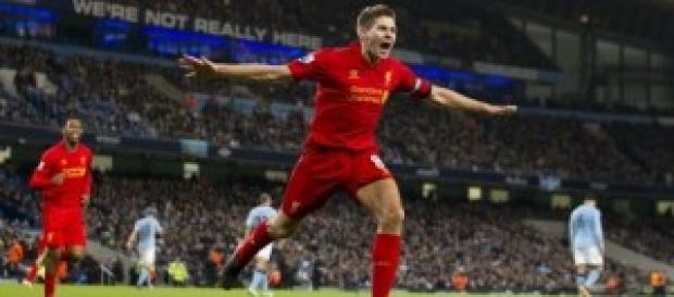 Gol de Steven Gerrard con el Liverpool
