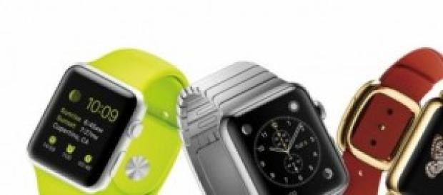 L'iwatch présentée lors du Kenote Apple 2014