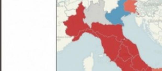 Sondaggio: Pd al 40%, crollano Forza Italia e M5S