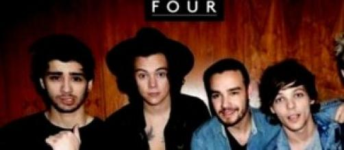 One Direction copertina album Four