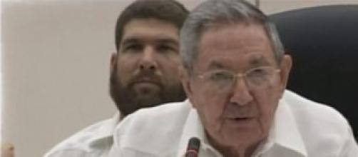 Raúl Castro en ALBA, conferencia sobre el ébola.