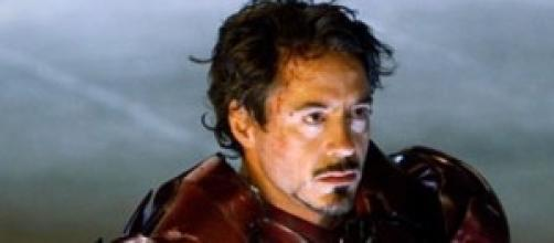 Robert Downey Jr y su Iron Man