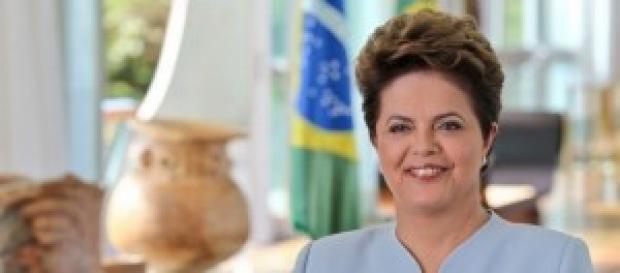 Dilma Rousseff, actual presidenta.