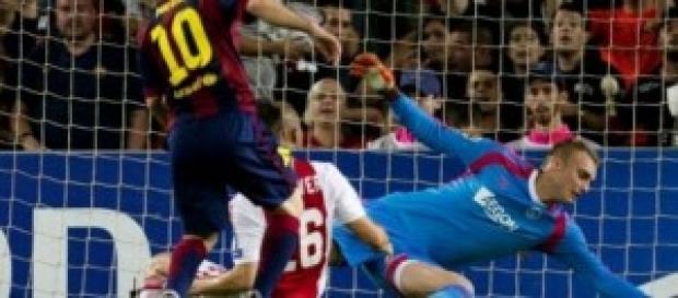 Imagen del gol de Leo Messi