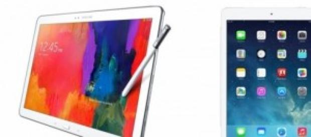 iPad Air 2 Vs Samsung Galaxy NotePro.